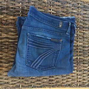 7 For All Mankind 'Dojo' Flare Size 31